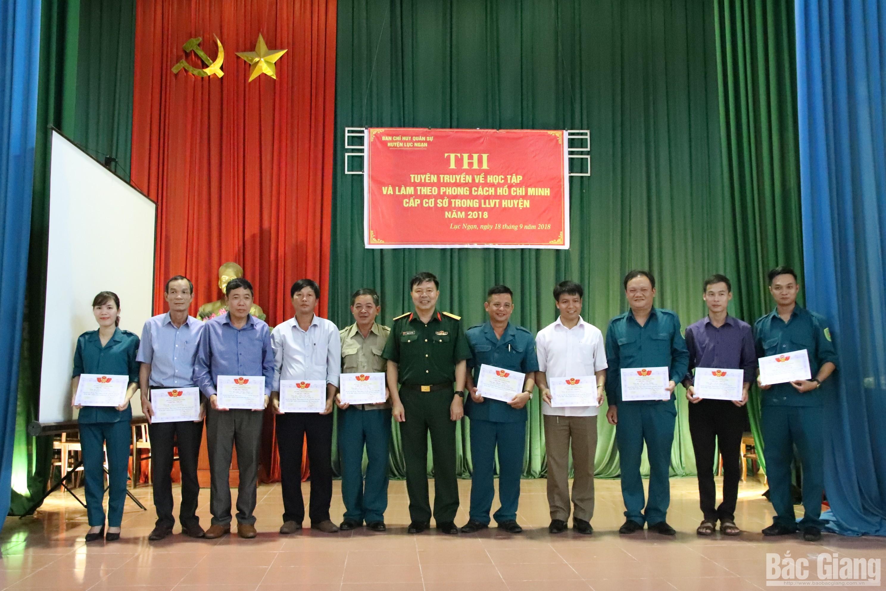 Thi tuyên truyền về học tập và làm theo phong cách Hồ Chí Minh